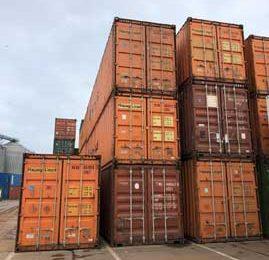 Vanzari containere maritime-second hand in anul 2020